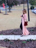 「Covet Sunday Bag - Burgundy Suede(no brand)」 using this RachelTindall looks