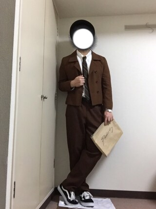 dai7さんの「MEN ヴィンテージベルト(ユニクロ|ユニクロ)」を使ったコーディネート