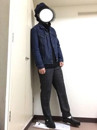 dai7さんの「デニムジャケット-ミッドカラー/14.8oz デニム(Levi's|リーバイス)」を使ったコーディネート