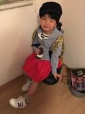 YUNAchocoさんの「【adidas】スーパースター 80's(adidas|アディダス)」を使ったコーディネート