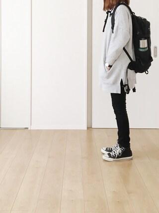 himarisoさんの「【PLAIN CLOTHING】ポケットスウェット(PLAIN CLOTHING|プレーンクロージング)」を使ったコーディネート
