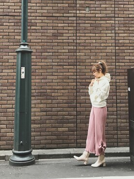 斎藤みらいさんの(Honey Salon by foppish ハニーサロンバイフォピッシュ)を使ったコーディネート