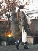 Atsukoさんの「ミニマルシェバッグ / Mini Marche Bag(CIBONE|シボネ)」を使ったコーディネート
