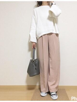 shiro_☺︎さんの「ワンハンドルバッグ/ショルダーバッグ【PLAIN CLOTHING】(PLAIN CLOTHING|プレーンクロージング)」を使ったコーディネート