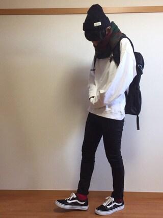 daiさんの「<WEB限定カラー追加!>ハイストレッチスキニーパンツ/724845(RAGEBLUE レイジブルー)」を使ったコーディネート