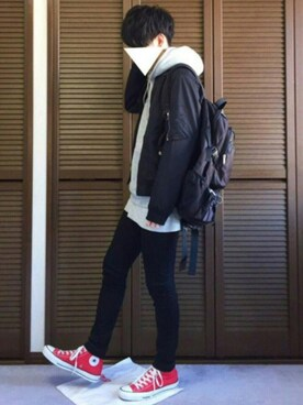「WEGO/スタンダードMA-1(WEGO)」 using this dai looks