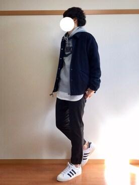 daiさんの(adidas|アディダス)を使ったコーディネート