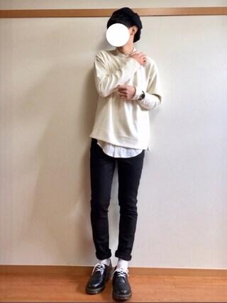 daiさんの「レーヨン混シャンブレーシャツ(ABAHOUSE|アバハウス)」を使ったコーディネート