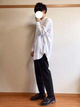 daiさんの「ブロードロングシャツ(HARE)(HARE|ハレ)」を使ったコーディネート