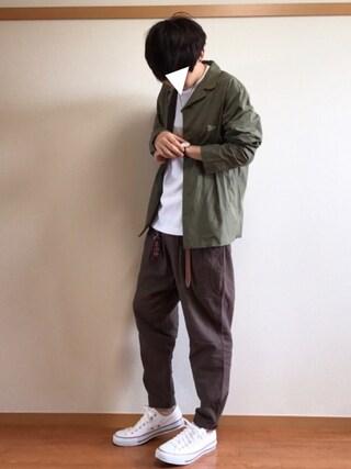 daiさんの「DOORS French Shirts Jacket(URBAN RESEARCH DOORS MENS|アーバンリサーチ ドアーズ メンズ)」を使ったコーディネート