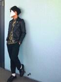 SHUNさんの「【KOMONO./コモノ】 WINSTON MIRROR (腕時計)(KOMONO. コモノ)」を使ったコーディネート