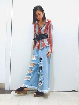 RANDA piole姫路店|yoshika.oさんの(RANDA|ランダ)を使ったコーディネート