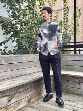 LE JUN二子玉川ライズ S.C.店|tatsuyaさんのシャツ/ブラウス「Crosby Process Shirt(Saturdays NYC|サタデーズ ニューヨークシティ )」を使ったコーディネート