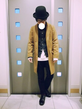 「【BACK NUMBER】チェスターコート(Right-on)」 using this kaki looks