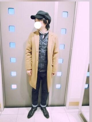 「【BACKNUMBER】ハイパワーストレッチ5Pパンツ(Right-on)」 using this kaki looks