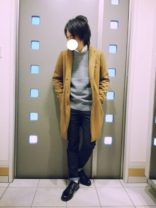 「【BACKNUMBER】ハイパワーストレッチ5Pパンツ(Right-on)」 using this kaki looks