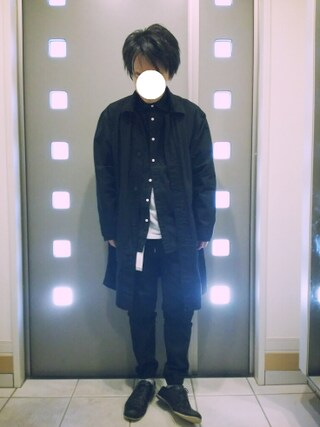 「【BACK NUMBER】無地レギュラーシャツ(Right-on)」 using this kaki looks