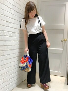 Khaju ルミネエスト新宿店|権田 彩弓さんの(Khaju|カージュ)を使ったコーディネート