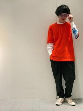Lui's 天王寺店|r.kobata1204さんの(FACETASM|ファセッタズム)を使ったコーディネート
