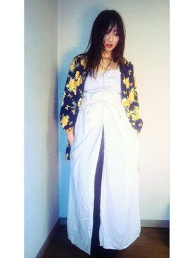 ichiruno|Sayuri 一縷のさんの(MURUA|ムルーア)を使ったコーディネート