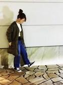 T♡mikiさんの「SLOBE サッシュベルト(SLOBE IENA|スローブイエナ)」を使ったコーディネート