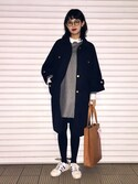 「A.P.C. Julia Tote(A.P.C.)」 using this 青柳 文子 looks