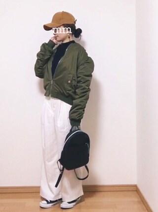 maimaiさんの「Sonny Label コーデユロイ6パックキャップ(URBAN RESEARCH Sonny Label|アーバンリサーチサニーレーベル)」を使ったコーディネート