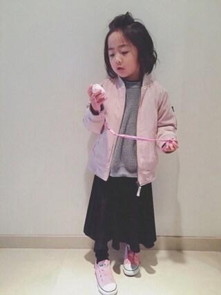 ⁂sooora⁂さんの「CHILD ALL STAR SLIP OX/チャイルド オールスター スリップ OX(CONVERSE|コンバース)」を使ったコーディネート