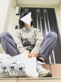 kyokoさんの(GU|リーボック)を使ったコーディネート