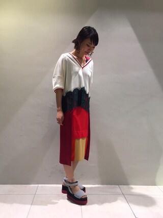 MIDWEST TOKYO WOMEN arimskさんの(MM6 エムエムシックス)を使ったコーディネート