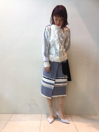 MIDWEST TOKYO WOMEN arimskさんの(AKIRA NAKA アキラナカ)を使ったコーディネート