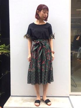 MIDWEST TOKYO WOMEN arimskさんの(muller of yoshiokubo ミュラー オブ ヨシオクボ)を使ったコーディネート
