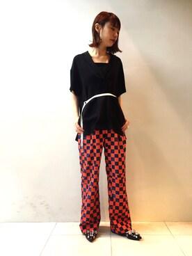 MIDWEST TOKYO WOMEN|arimskさんの(TOGA PULLA|トーガ プルラ)を使ったコーディネート