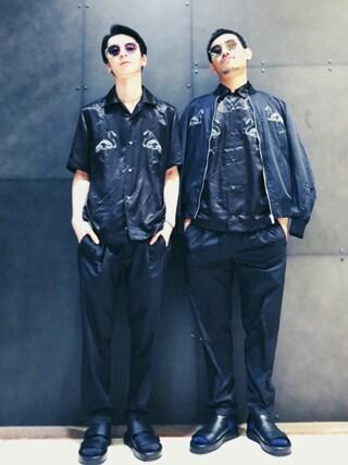 DIESEL 横浜|HIROKI ARAIさんの「00SYTQ0LAOF(DIESEL|ディーゼル)」を使ったコーディネート