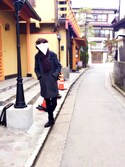 sumiさんの「WOMEN ストレッチパンツ+E(ユニクロ|ユニクロ)」を使ったコーディネート
