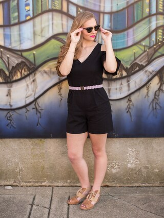 「Anthropologie Emine Romper(Anthropologie)」 using this Polishedpiggy looks