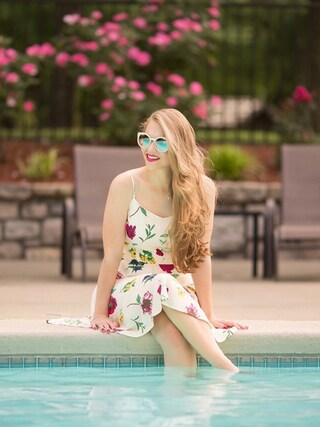 「Free People Womens ABBEY ROAD SUNGLASSES(Free People)」 using this Polishedpiggy looks