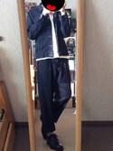 たいし/taishiさんの「【ラク伸びる】ジャージーズ ジャケット(EDWIN|エドウィン)」を使ったコーディネート