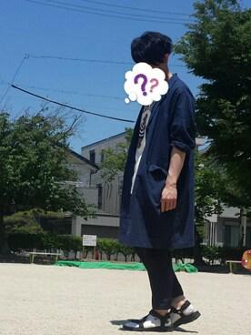 【J】(ベレー帽ゴリ推し隊☺✨)さんの(靴下屋|クツシタヤ)を使ったコーディネート
