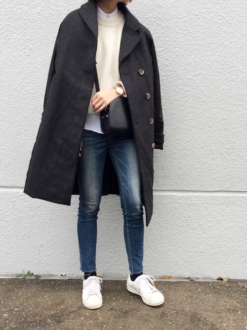 cota_raさんの「【粧う/YOSOOU/ヨソオウ】Tailored Coat(YOSOOU)」を使ったコーディネート