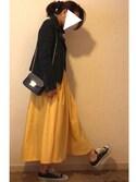 rikakukoさんの「ペイズリー柄シュシュ【PLAIN CLOTHING】(PLAIN CLOTHING|プレーンクロージング)」を使ったコーディネート