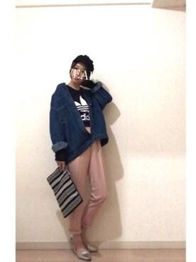 rikakukoさんの(adidas|アディダス)を使ったコーディネート