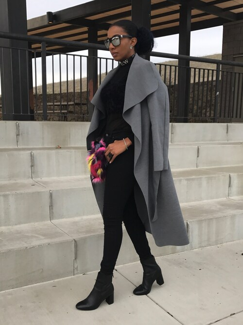 tallnnatural  is wearing Missguided