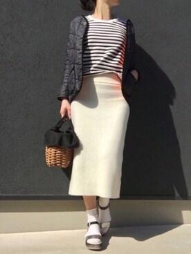 jo_jiさんの「ファインメリノ セッケツスカート#(JOURNAL STANDARD|ジャーナルスタンダード)」を使ったコーディネート