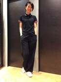 NAOさんの「Twin Tipped Fred Perry Shirt (Made in England)(FRED PERRY|フレッドペリー)」を使ったコーディネート