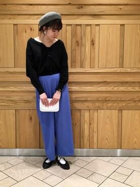 SENSE OF PLACE by URBAN RESEARCH|SENSE OF PLACE ジョイナス横浜店 STAFF的時尚穿搭