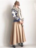 aimee♡エイミーさんの「MADISONBLUE スカート(MADISON BLUE|セリーヌ)」を使ったコーディネート