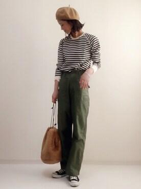 【季節別】おすすめのカーキコーデ|シャツ/パンツ/スカート