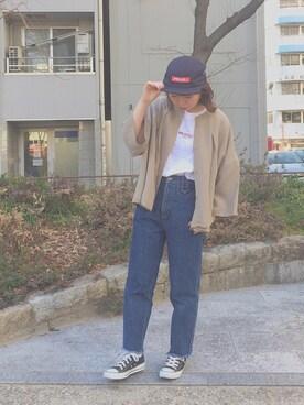 MILKFED. AT HEAVEN27 名古屋|SAYAKA  さんの(CONVERSE|コンバース)を使ったコーディネート
