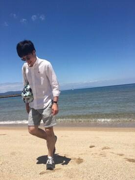 y.kurataさんの(MAISON KITSUNE|メゾンキツネ)を使ったコーディネート